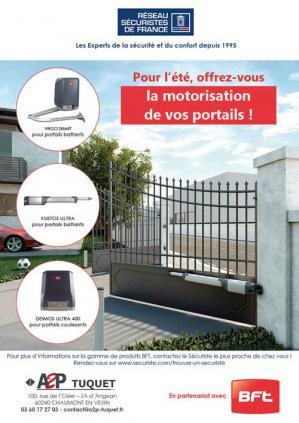 A2p tuquet operation bft motorisation portail