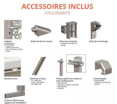 Accessoires portails coulissants