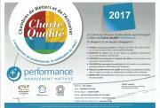 Diplôme charte qualité Chambre Métiers a2p tuquet