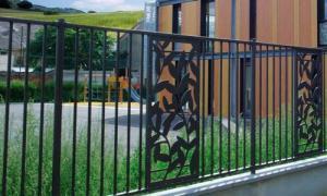 Grille florilege decor feuilles a2p tuquet nanterre