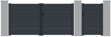 Maez lames horizontales 150mm ajourees