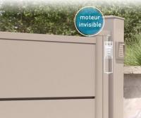 Motorisation invisible intégrée dans les montants - Invisio - A2P TUQUET