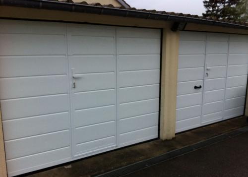 Porte garage sectionnelle villers sur trie 60590