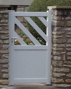Portillon Argoat lames fougères 60240 Chaumont en Vexin