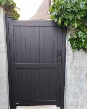 Portillon Diwan marron brun - Eragny sur Oise 95