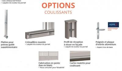 Options coulissants 1